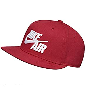 Nike Mens Air True Snapback Hat (One Size, Red Crush/White) 8