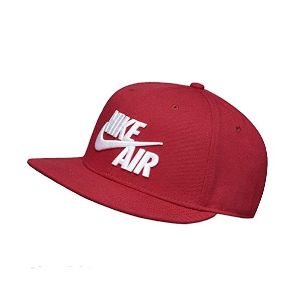 Nike Mens Air True Snapback Hat (One Size, Red Crush/White) 1
