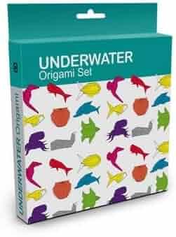 Boxed Origami Set- Underwater Origami