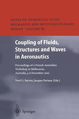 Coupling of Fluids, Structures and Waves in Aeronautics: Proceedings of a French-Australian Workshop in Melbourne, Australia 3-6 December 2001: v. 85 (Notes … Mechanics and Multidisciplinary Design) Pdf