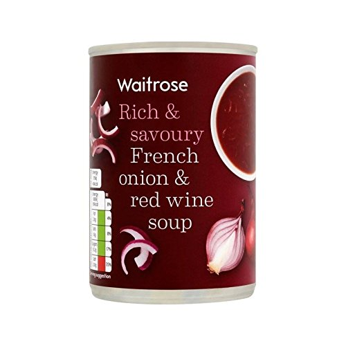 French Onion & Red Wine Soup Waitrose 400g - Pack of 4