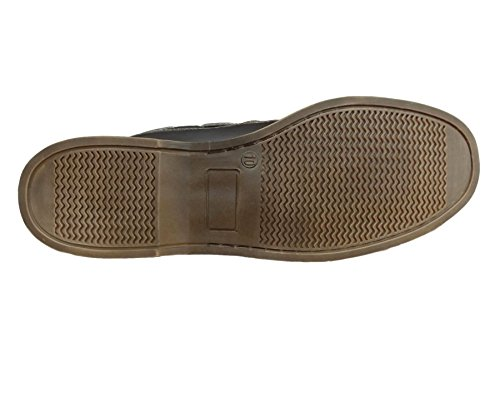 Henleys Støvler Uformelle Tekstil Brune Sandbanke Skinn Menns rW84A0qr