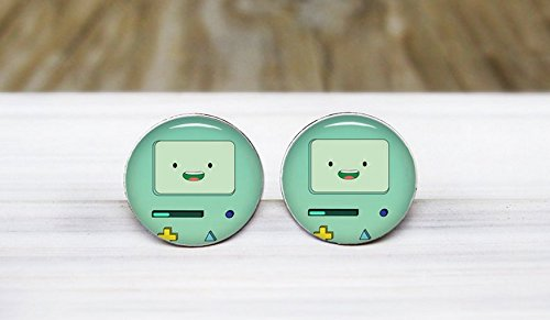 Robot Earrings Hypoallergenic Sensitive Ears product image
