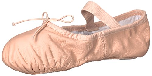 "Adult ""Dansoft"" Leder Vollsohle Ballettschuhe, S0205LPNK5.5D, Pink, 5.5D"