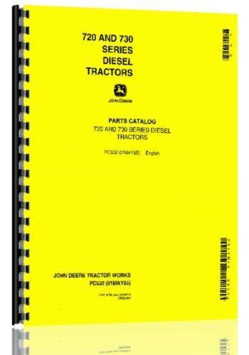 Comb Elec (John Deere 720 730 Tractor Parts Manual Diesel 24v elec start)