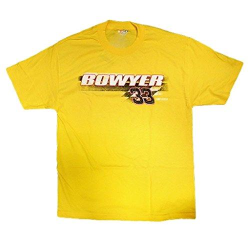 33-clint-bowyer-cheerios-yellow-mens-shift-tee-shirt-xxl