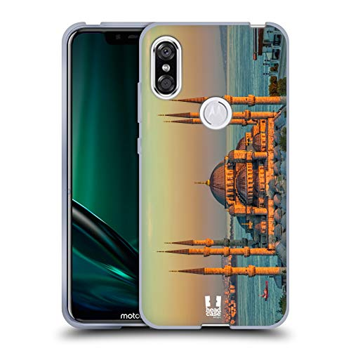 - Head Case Designs Sultan Ahmed Mosque Best of Istanbul Soft Gel Case for Motorola One (P30 Play)