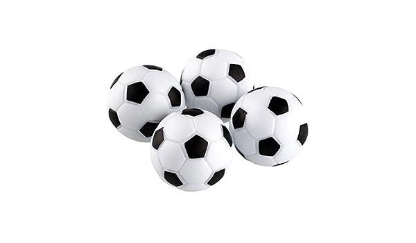 JWBOSS Juguetes diversión de plástico 4pcs Futbolín 32 mm de ...