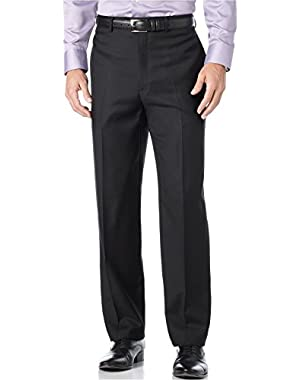 Calvin Klein Black Mini Striped 100% Wool New Men's Dress Pants
