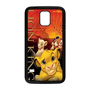 Painted Lion back phone Case cover Samsung galaxy S5