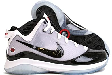 purchase cheap 4fa19 1eab2 NIKE Lebron VII P.S. (POP) Playoff Pack White Black Mens Basketball Shoes  408758-101