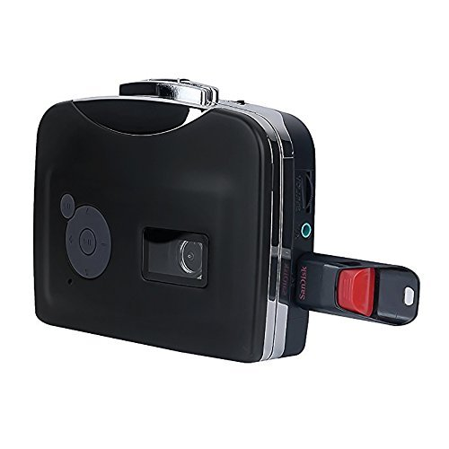 Cassette Converter, Autoor Portable USB Tape Converter Cassette to MP3 and U Disk