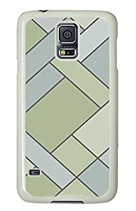 Z Concise PC White Hard Case Cover Skin For Samsung Galaxy S5 I9600