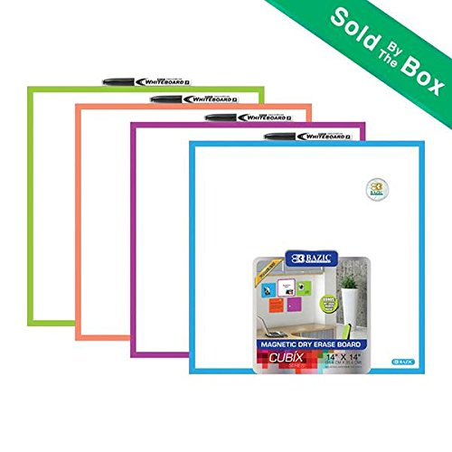 BAZIC 14'' x 14'' Magnetic Dry Erase Tile by Bazic Products