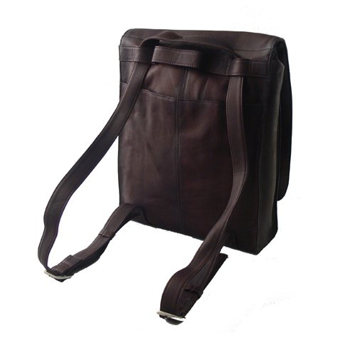 Latico Leathers Convertible Laptop to Shoulder Bag/Backpa...