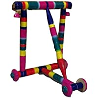 RKR Traditional Wooden Walker Nadavandi for Toddlers (Multicolour)
