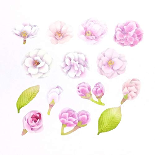 Bande Tape Masking Roll Stickers Double Cherry Blossoms for Scrapbooking DIY (BDA337)