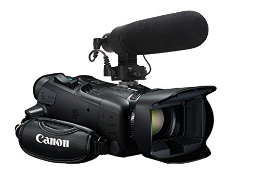 Canon XF400 Advanced Super Cardioid XLR Microphone (Stereo/Shotgun) With Dead Cat Wind Muff ()