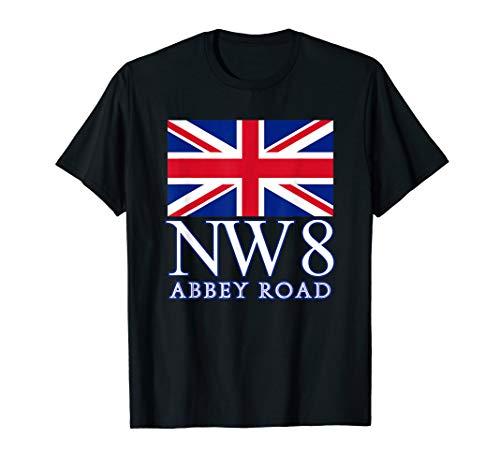 Abbey Road Postcode NW8 London Postcode Tshirt