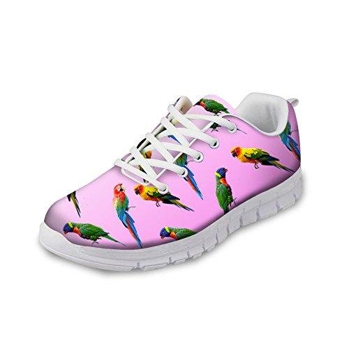 Zapatillas Showudesigns Caucho para de 4 de color mujer running 1xwZFqU