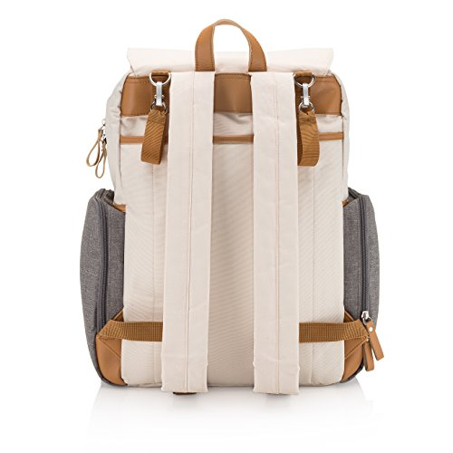 Parker Baby Diaper Backpack Large Diaper Bag With