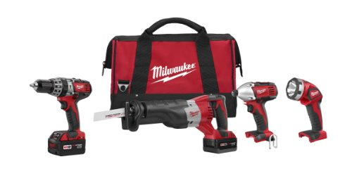 Milwaukee 2696-24 M18 Cordless Compact Combo Tool Kit by Milwaukee (Image #5)