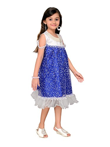 blu Abito da Adiva senza maniche ragazza XOnaf