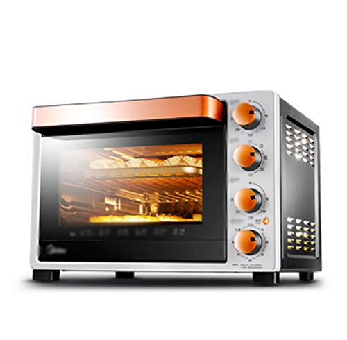 BLAKQ Oven Household Multi-function Electric Oven Professional Baking Enamel Easy To Clean Liner Double Insulated Door -02 Mini Ovens