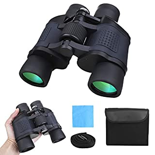 NELOMO Binoculars for Adults and Kids,10x42 Compact Professional Binoculars,Large Eyepiece High Power Binocular with Low Light Night Vision,for Hunting,Bird Watching,Sightseeing,Outdoor Camping