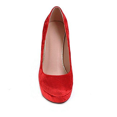 mujer mujer Modernos Para Rojo KingRover Modernos KingRover KingRover Modernos Para Rojo FzxqT