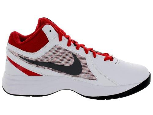 Nike Hombres Del Overplay Viii Nbk Blanco / Universidad Rojo / Negro / Gris Oscuro Outlet Store Barato Online Vista de liquidación Nueva venta unisex en línea dFITaoO4