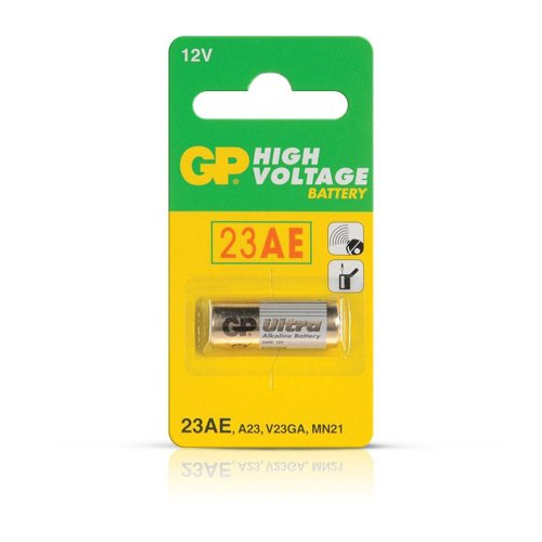 GP High Voltage Alkaline Batteries - 23 AE 12V (pack of ()