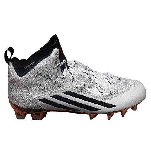 Adidas Heren Speciale Crazyquick 2,0 Mid Asu Pit Voetbal Klampen Wit / Kern Zwart / Koper Metallic