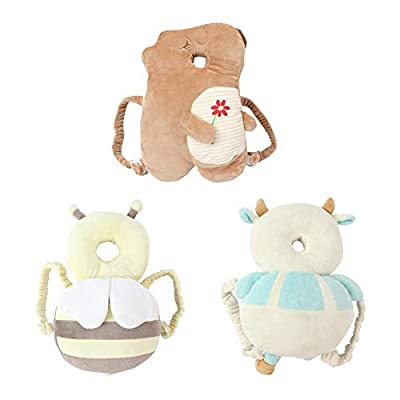 Occitop Cute Baby Head Protection Pad Toddler Headrest Pillow Nursing Wings Cushion