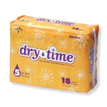 Dry Time Baby Diapers Size 6 (Pack Of 120)