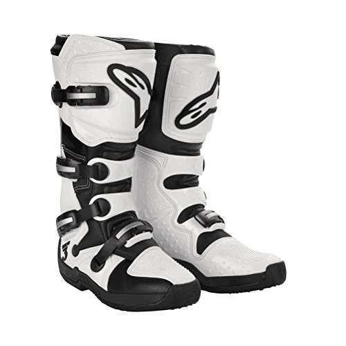 Alpinestars Womens Stella Tech 3 Boots-White/Black-9