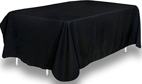90 x 132-Inch - Tablecloth - 100 Percent Polyester - Round Edges Table Cover - by Utopia Kitchen (Halloween 90)