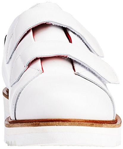 0735 Porcelain Damen Ls0115 Calf Berlin Liebeskind Sneaker Weiß White Bq8RzvR
