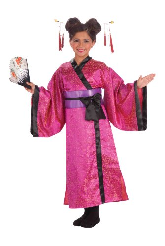 Forum Novelties Geisha Dress, Child's Large