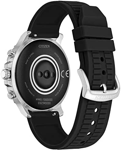 41ZHoIydTDL. AC Citizen CZ Smart Stainless Steel Smartwatch Touchscreen, Heartrate, GPS, Speaker, Bluetooth, Notifications, iPhone and Android Compatible, Powered by Google Wear OS    From the manufacturer