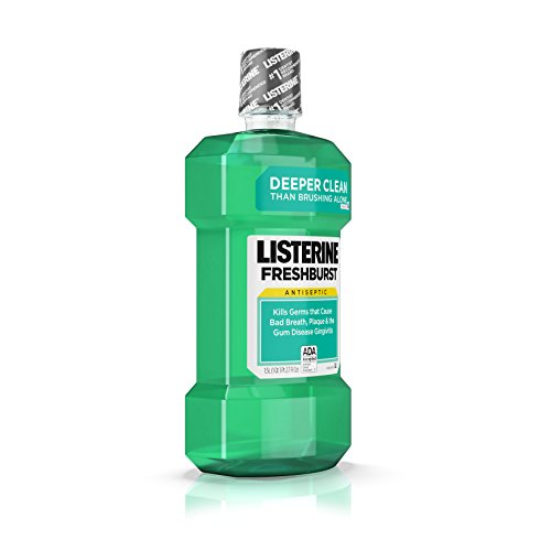Listerine Freshburst Antiseptic Mouthwash For Bad Breath, 1.5 L, (Pack of 6) by Listerine (Image #3)