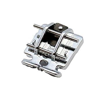 Alfa Prensatelas cremalleras invisibles, accesorio para máquina de coser, acero inoxidable: Amazon.es: Hogar