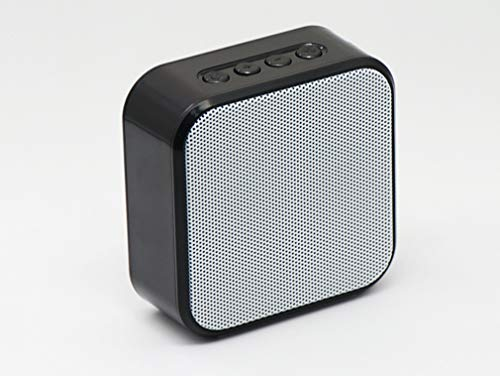Portable Bluetooth Wireless Speakers Enhanced Bass for iPhone iPod and Android System, Sync Together, Built in Mic, TF…