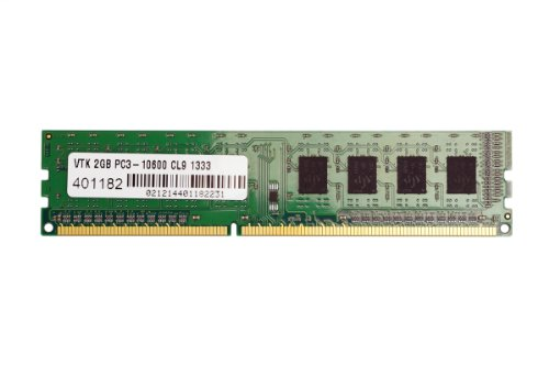Dimm X4 Single (VisionTek 2GB DDR3 1333 MHz (PC-10600) CL9 DIMM, Desktop Memory - 900378)