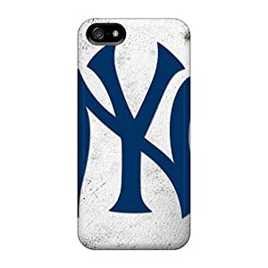DateniasNecapeer Cases Covers Protector Specially Made For Iphone 5/5s New York Yankees
