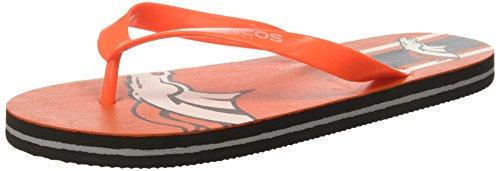 Denver Broncos Unisex Gradient Big Logo Flip Flop Small