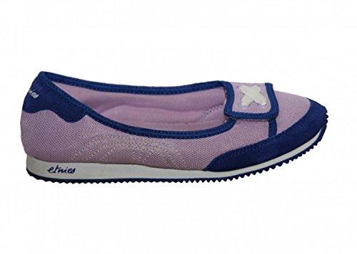 Etnies Skateboard women´s shoes Myra Black/Whit/Bordeaux Slip on