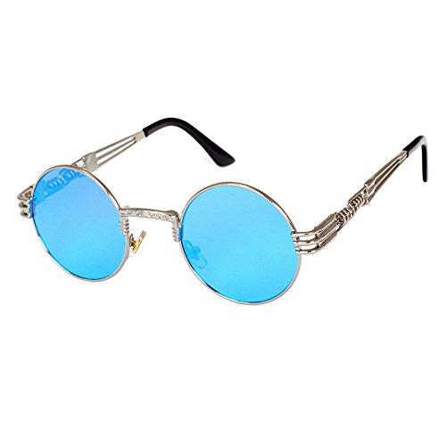 de Métal femmes soleil Classique Steampunk Punk pour de HipHop hommes C16 lunettes lunettes hibote Vintage soleil H6xHvqwpr