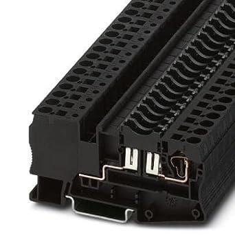DIN Rail Terminal Blocks ST 4-FSI/C (10 pieces): Amazon com