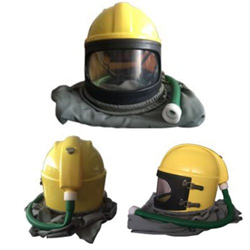 Ewoo 2017 AIR FED Safety Sandblast Helmet Sand Blast Hood Protector for Sandblasting